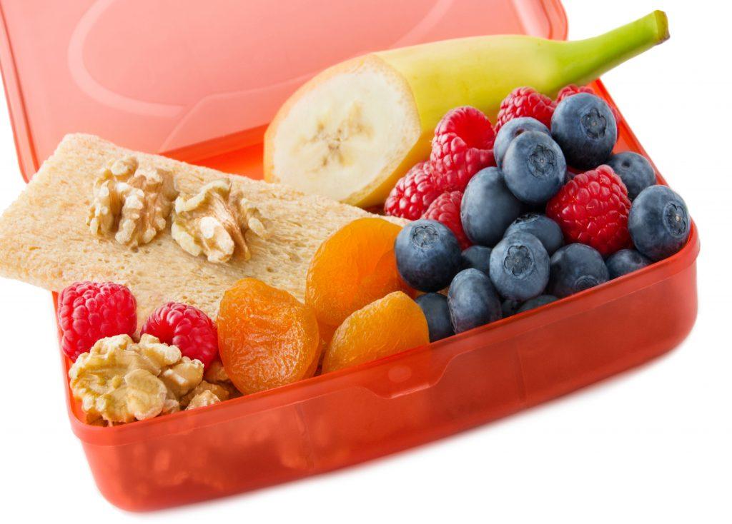 Snackbox - Essen unterwegs - Obst und Nsse